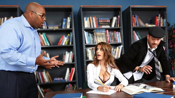 Study Break - Brazzers Porn Scene
