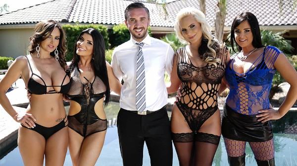 Brazzers House Sex Challenge - Brazzers Porn Scene