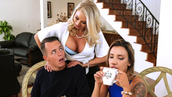 Massaged By Her Mother - Brazzers Porn Scene