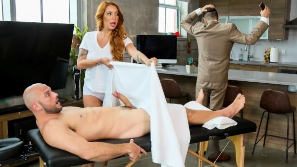 Sloppy Massage Heaven - Brazzers Porn Scene