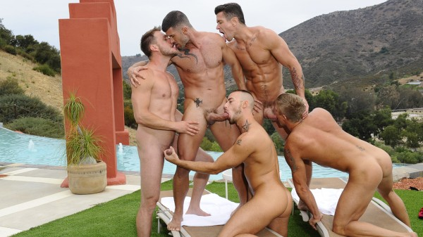 Watch Pool Party on Male Access - All the Best Gay Porn in One place