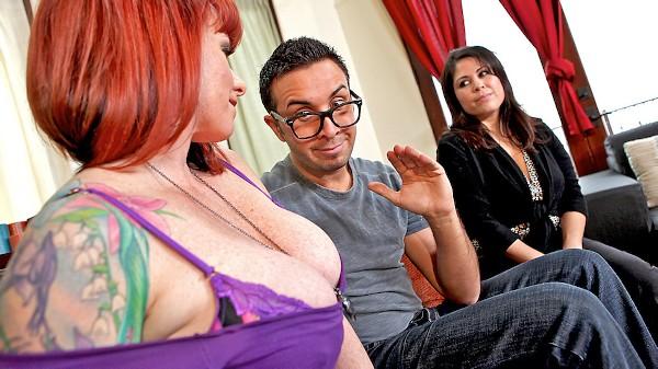 Mommy's Hot Friend - Brazzers Porn Scene