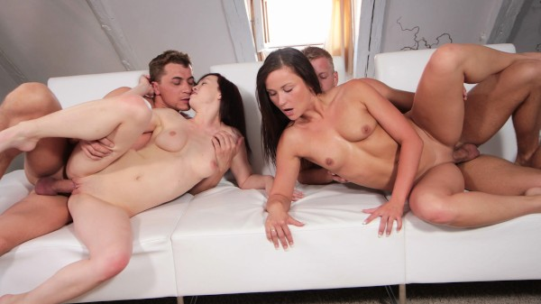 Watch Niki Sweet, Bianka, Denis Frederick in Couples Swap And Fuck Like There's No Tomorrow