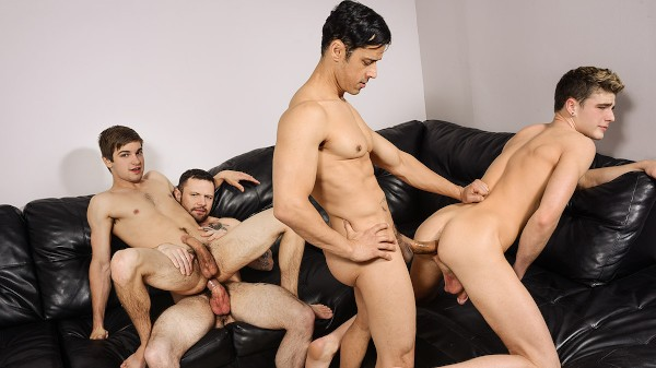 Enjoy I'm Leaving You Part 5 on Twinkpop.com Featuring Johnny Rapid, Sgt Miles, Rafael Alencar, Travis Stevens