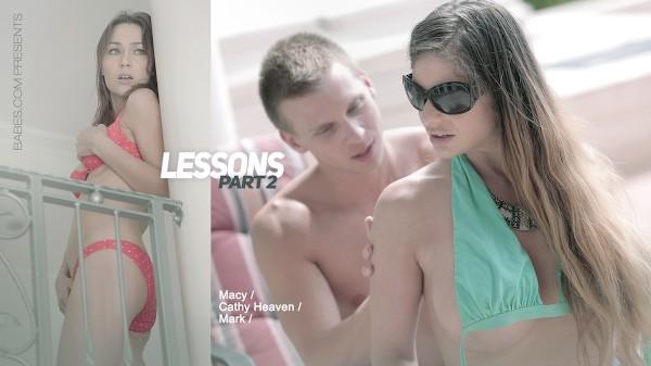 Lessons: Part II Elite XXX Porn 100% Sex Video on Elitexxx.com starring Cathy Heaven, Macy, Mark