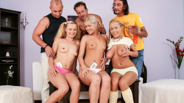 Orgy Initiations #03 Scene 2 Porn DVD on Mile High Media with George Uhl, Kathy Sweet, Jessica Moore, Neeo, Sarah Blue, Diether Von Stein