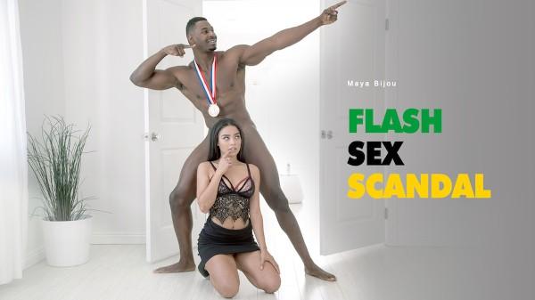 Flash Sex Scandal - Maya Bijou - Babes