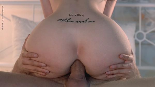 I Love Anal Sex - Kristy Black, Kristof Cale - Babes