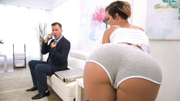 Taking Care Of Businessman - Brazzers Porn Scene