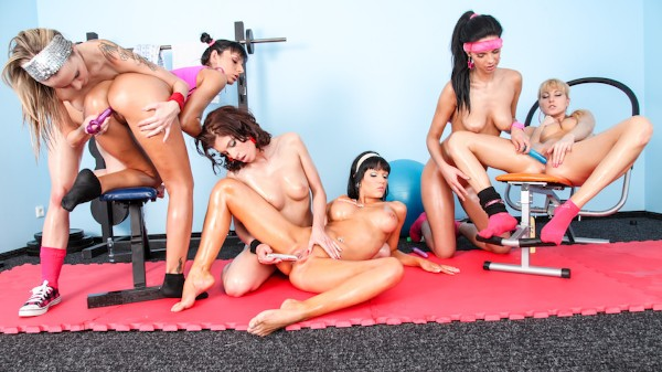 Lesbian Oil Orgy #02 Scene 2 Porn DVD on Mile High Media with Gina Devine, Susan Snow, Veronica Diamond