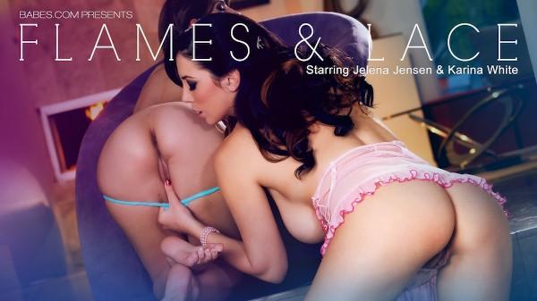 Flames & Lace - Karina White, Jelena Jensen - Babes