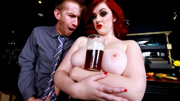 Trying Out the Bar Wench - Brazzers Porn Scene