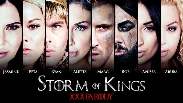 Storm of Kings XXX Parody - Brazzers Porn Scene