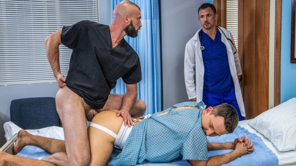 The Doctor Is In Me Volume 2: Beside Manner Scene 4 - Donnie Argento, Jesse Zeppelin, Andrew Day