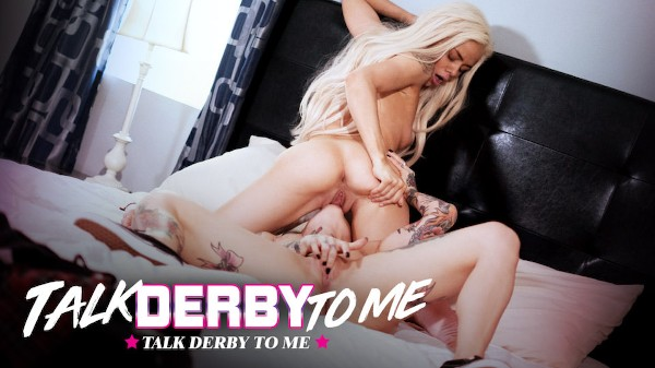 Talk Derby To Me Scene 4 Porn DVD on Mile High Media with Elsa Jean, Joanna Angel