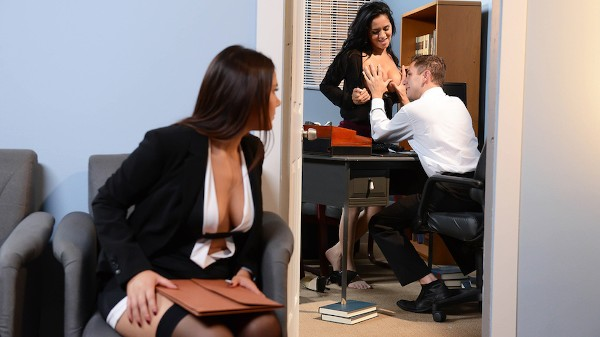 Battle of the Stockings - Brazzers Porn Scene