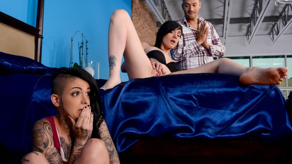 Sneaky Sharing - Brazzers Porn Scene