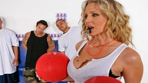 Dodge Balls - Brazzers Porn Scene