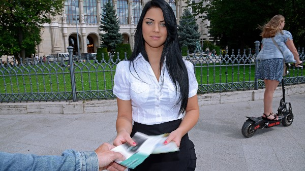 Watch Suzy Fox in Hungarian Amateur Sells Her Pussy