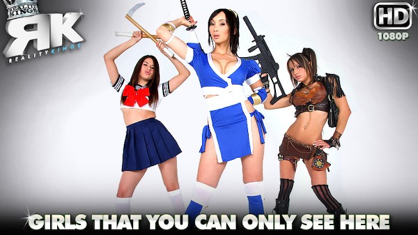 We Cosplay Together - Lezdom Bliss Lesbian Porn Video
