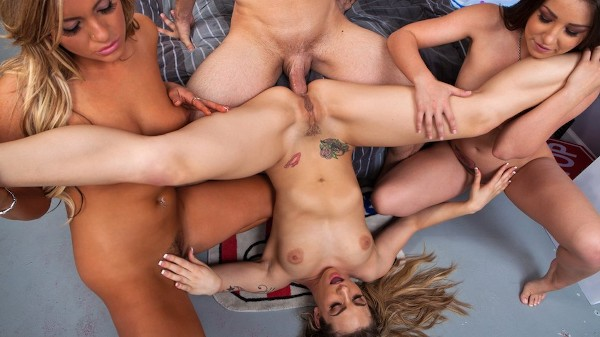 The Rites of Big Cock Passage - Brazzers Porn Scene