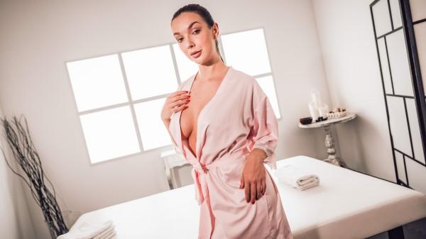 Massaged Czech gets cum on tits at SexyHub.com