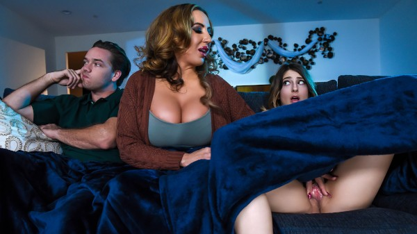 Mind If Stepmom Joins You? - Brazzers Porn Scene