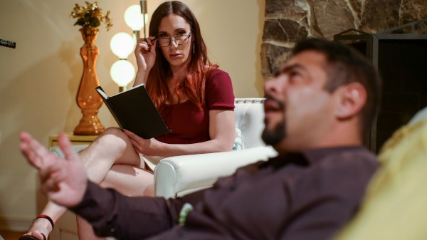 Therapist Desires Shemale DVD on TransSensual with Draven Navarro, Melanie Brooks