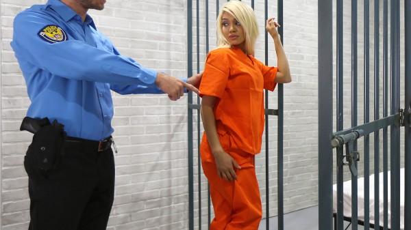Watch Elizabeth Jolie in Nasty Blonde Bangs Dude in Uniform