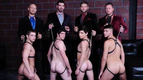 Daddy's Club Part 5 - feat John Magnum, Johnny Rapid, Justin Dean, Robbie Rivers, Colby Jansen, Billy Santoro, Corey Haynes, Charlie Harding