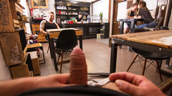 Dudes In Public 27 - Kitchen Confidential - Collin Lust, Jax Damon