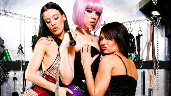 Lesbian Fetish School Scene 4 Porn DVD on Mile High Media with Amy Lee, Erika Heaven, Mistress V