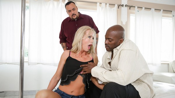Enjoy Mom's Cuckold #14 Scene 4 on Milfed.com Featuring Lexington Steele, Simone Sonay