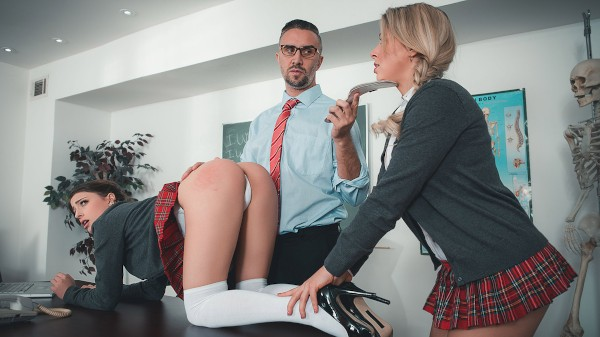 Sir Keiran's School of Anal Training Part 2 - Keiran Lee, Kristen Scott