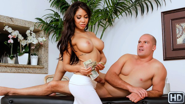 Lubed Up Latina with Sean Lawless, Gia Milana at 8thstreetlatinas.com