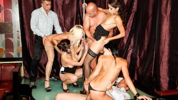 5 Incredible Orgies Scene 2 Porn DVD on Mile High Media with Angie, Ferrera Gomez, George Uhl, Barra Brass, Leonelle Knoxville, Kari, Neeo, Veronica Diamond, Steve Q