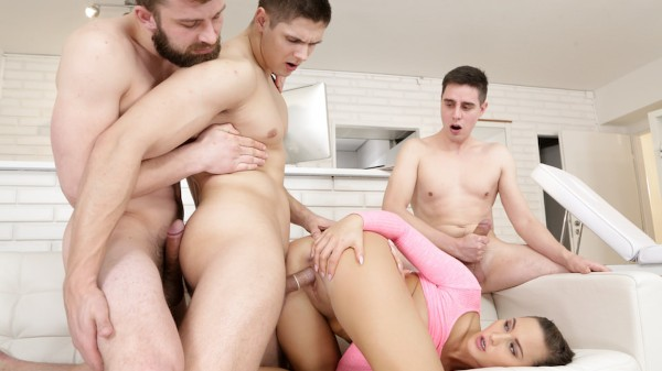 Keep It in the Step Family Scene 3 Bisexual Orgy on Bi Empire with Naomi Bennet