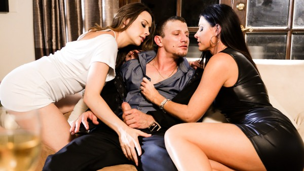 The Swinger #04 Scene 4 Porn DVD on Mile High Media with Chanel Preston, India Summer, Mr. Pete