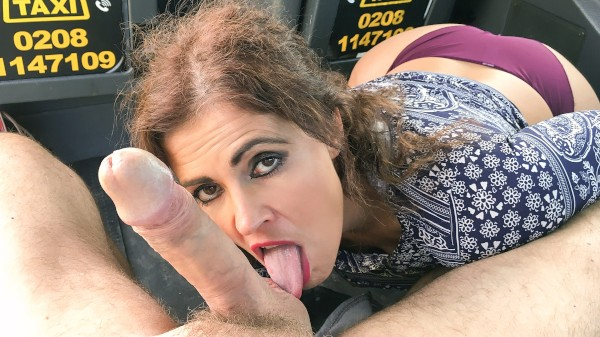 Watch John Bishop in Big sexy Spanish ass bounces in cab