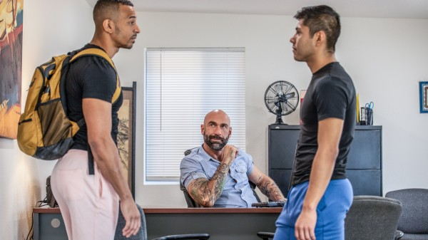 Enjoy Stepdad's Wish Comes True on Taboomale.com Featuring Zario Travezz, Calix Rivera, Drew Sebastian