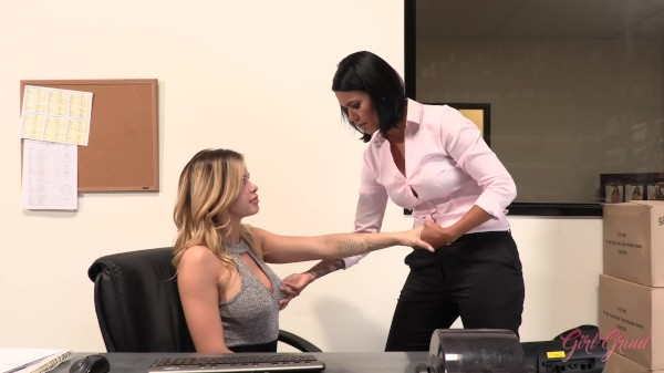 Office Slut Must Prove Her Loyalty To The Company