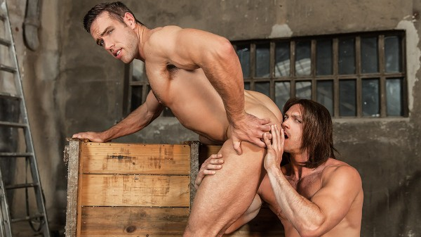 Captain America : A Gay XXX Parody Part 3 - feat Alex Mecum, Paddy O'Brian