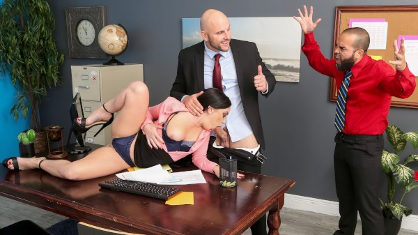 Getting Her Husband A Raise - Brazzers Porn Scene
