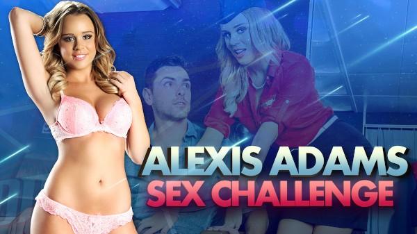 Alexis Adams in DP Star Sex Challenge Hardcore Kings Porn 100% XXX on hardcorekings.com starring Alexis Adams