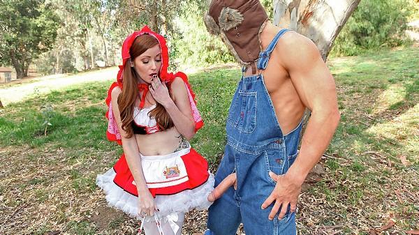 Little Red Riding Whore - Brazzers Porn Scene