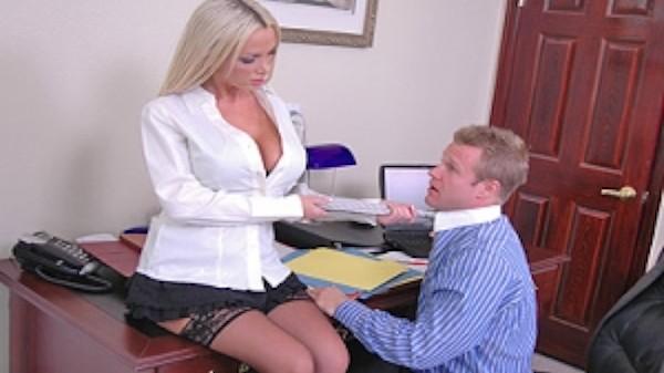 Nikki Benz Sales Manager - Brazzers Porn Scene