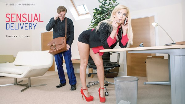 Sensual Delivery - Candy Licious, Ryan Ryder - Babes