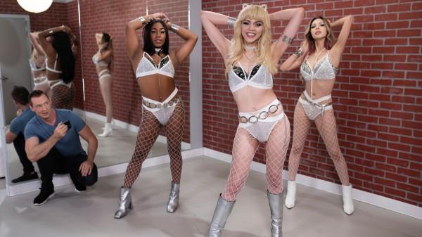 Watch Fuck-A-Fan featuring Pierce Paris, Kate Zoha, Selene Santos Transgender Porn