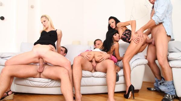 Swingers Orgies #02 Scene 3 Porn DVD on Mile High Media with Leonelle Knoxville, Martin Gun, Samantha, Veronica Diamond, Steve Q, Thomas