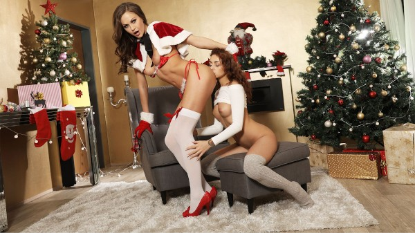 Festive fuck from Miss Santa Claus at SexyHub.com